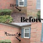 Before & After Power Washing in Evansville, IN