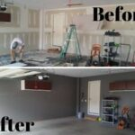 Before & After Garage Painting in Evansville, IN