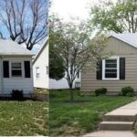 Before and After in Princeton, IN.