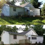 Before & After Exterior Painting in Evansville, IN
