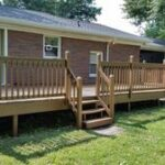 Below: Deck Staining in Henderson, KY