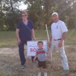 Michael, owner of Barta's Affordable Painting LLC, and family